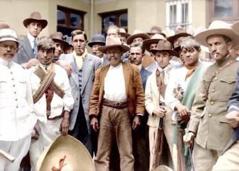Revolución Mexicana a color