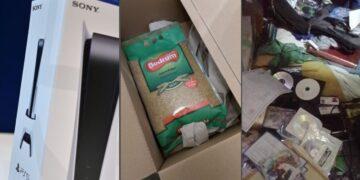 Clientes de Amazon reciben arroz en lugar de su consola PS5