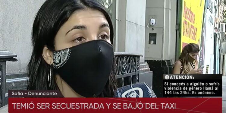 Joven cree que será secuestrada y denuncia al taxista