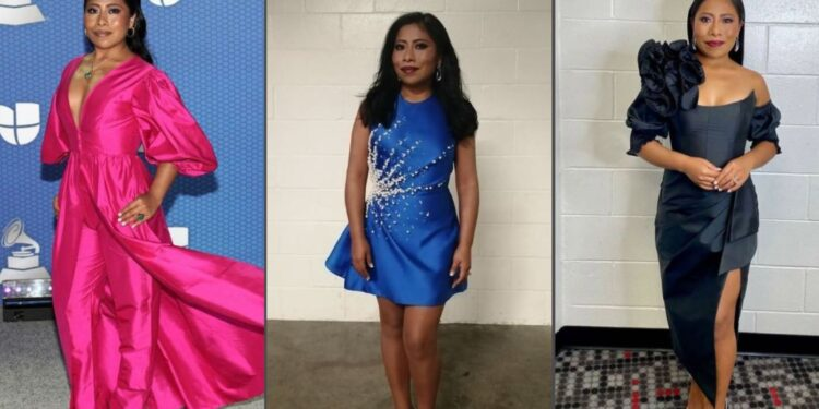 Yalitza Aparicio impacta con su vestimenta en los Latin Grammy 2020