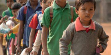 Esta iniciativa permite que más niños regresen a estudiar en India