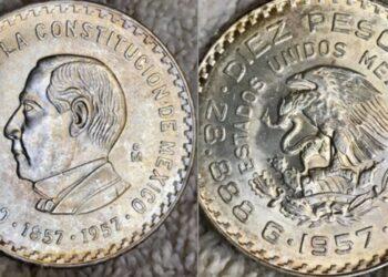 Moneda de plata con el rostro de Benito Juárez se vende en Internet