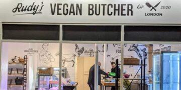 Rudy´s, la primera carnicería vegana en Londres, vendió todo en solo un día