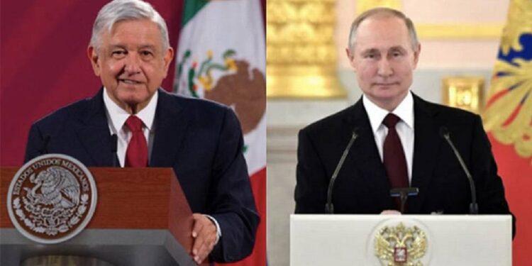 """AMLO comentó que durante su charla el presidente de Rusia, Vladimir Putin se mostró """"genuinamente afectuoso"""""""