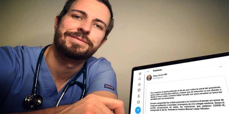 Diego Araiza Garaygordobil, el médico que hizo comentarios contra la salud de AMLO