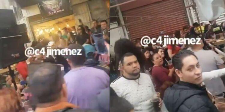Chelerías en Tepito siguen operando pese al Semáforo Rojo