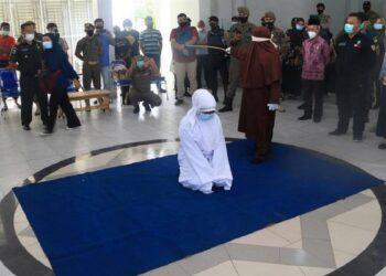 Es la tercera vez que la policía islámica azota a personas homosexuales por estos actos