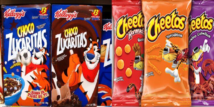 Chester Cheetos, Melvin y el Osito Bimbo ya no aparecerán en las envolturas