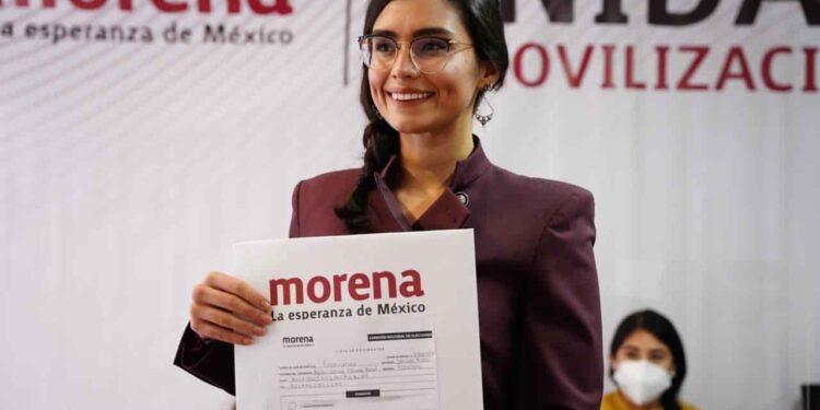 Excolaboradora de AMLO se registra como aspirante a la gubernatura de San Luis Potosí