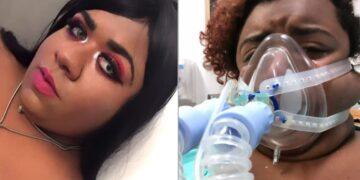Influencer brasileña que no creía en el covid-19 está intubada a causa de la enfermedad