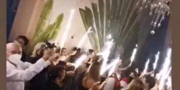 Influencers hacen fiesta en Yucatán y gobierno sanciona a organizadores