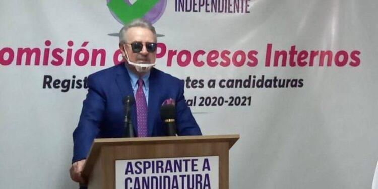Entre las propuestas de Villagrán están combatir la inseguridad y disminuir la pobreza