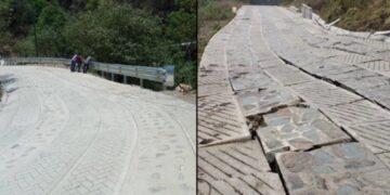 El INPI indicó que el camino fue construido con la mano de obra de las comunidades indígenas de Oaxaca